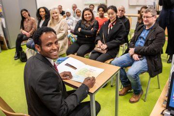 Diploma-uitreiking duaal traject 2020 Door Eddie Mol